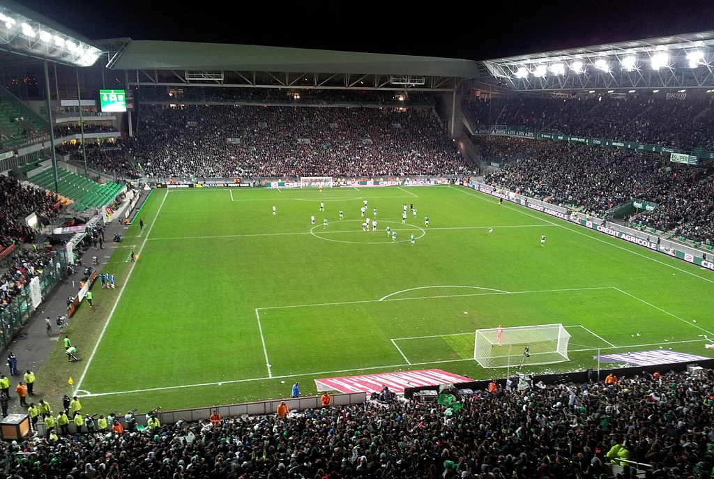 Stade Geoffroy-Guichard. Fotó: KevFB/Wikipédia