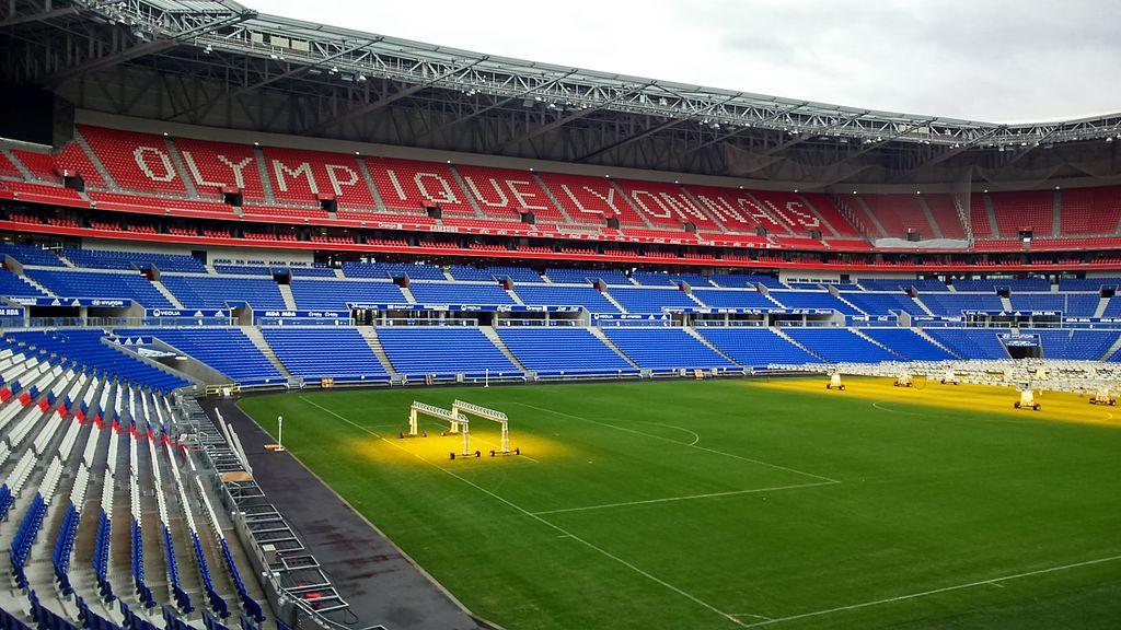 Parc Olympique Lyonnais. Fotó: Alexis Klein/Wikipédia