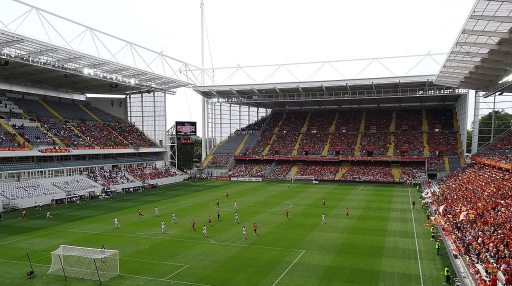 Stade Bollaert-Delelis. Fotó: Liondartois/Wikipédia