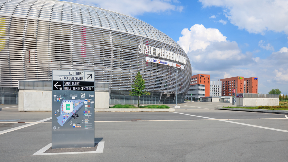 Stade Pierre-Mauroy. Fotó: Lena Serditova/Shutterstock.com