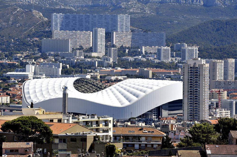Marseille, Stade Velodrome. Fotó: Gilles Paire/Shutterstock