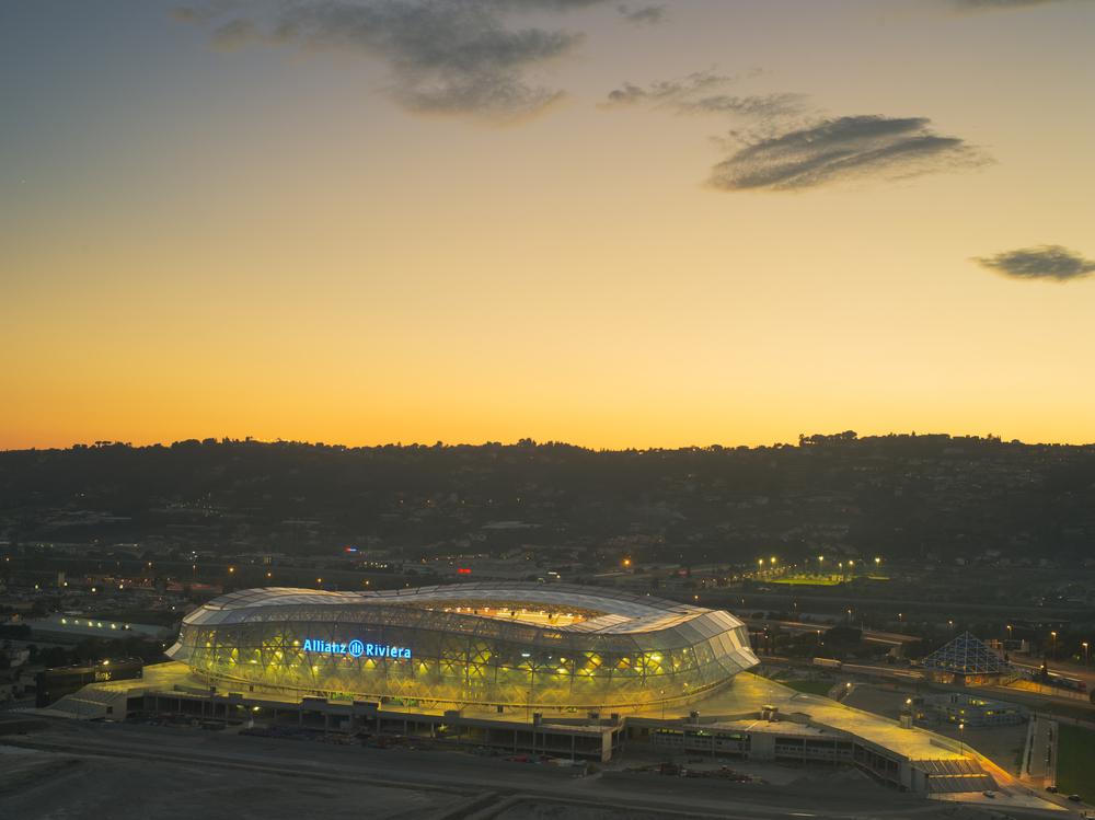 Allianz Riviera. Fotó: jbor/Shutterstock.com
