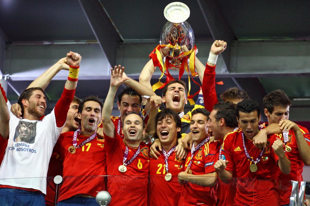 Spanyolország Eb-győzelme. Fotó: katatonia82/Shutterstock.com