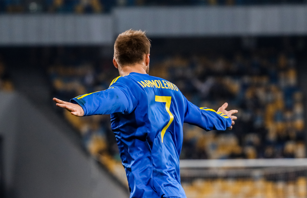 Andrey Yarmolenko. Fotó: photo-oxser/Shutterstock.com