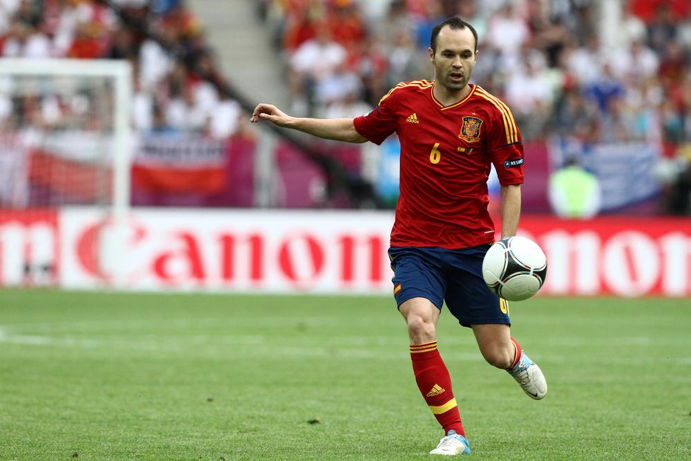 Andrés Iniesta. Fotó: YiAN Kourt/Shutterstock.com