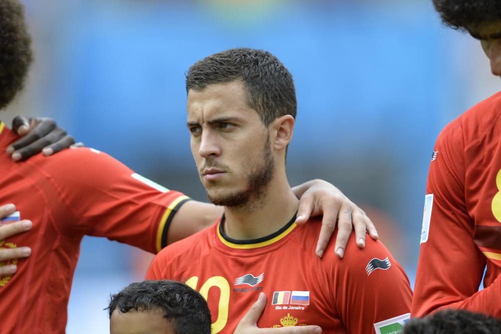Eden Hazard. Fotó: CP DC Press/Shutterstock.com