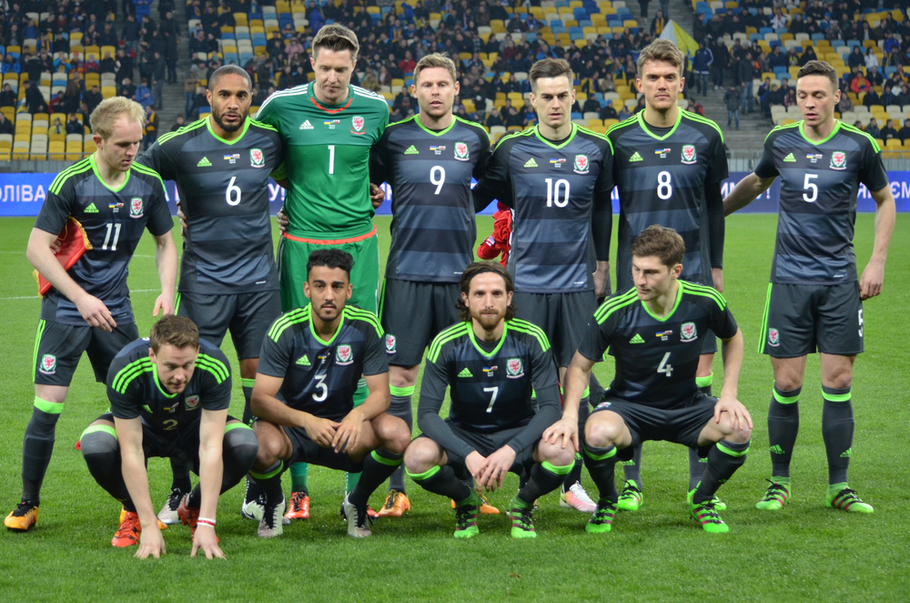 Walesi válogatott. Fotó: Vlad1988/Shutterstock.com
