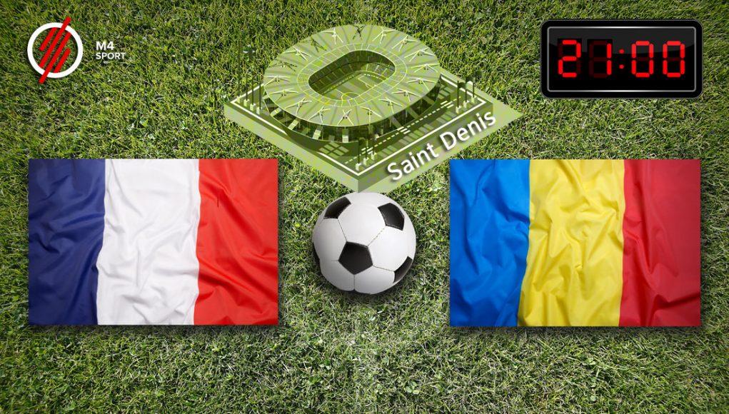 Franciaország - Románia nyitómeccs