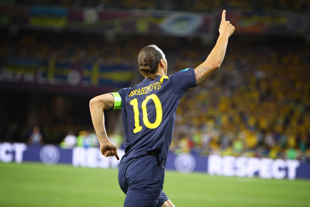 Zlatan Ibrahimovic. Fotó: katatonia82/Shutterstock.com